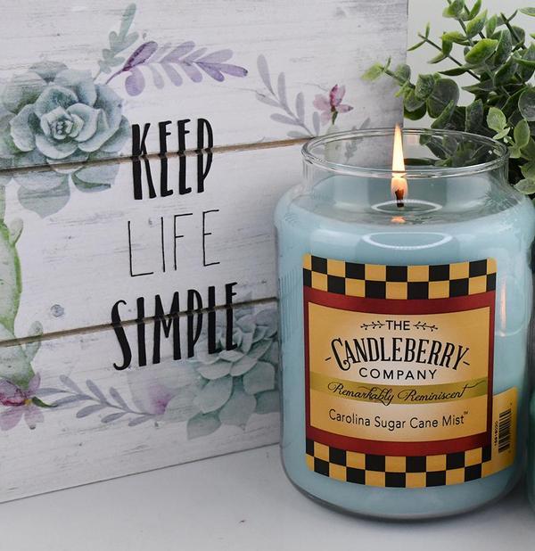 Carolina Sugar cane candle