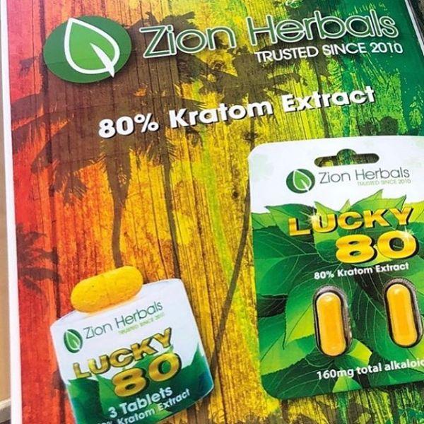 Lucky 80 Kratom Extract