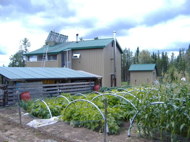 Wilderness Homestead in northern Saskatchewan