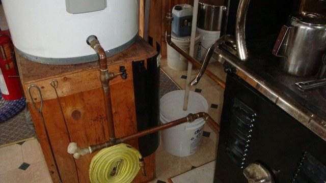 Hot Water Tank Plumbing