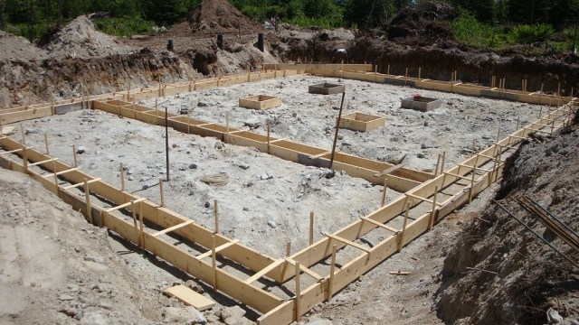Concrete Footing Forms