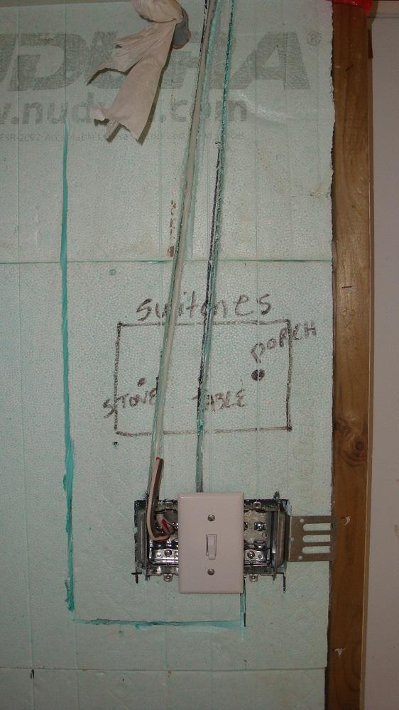 Triple Gang Electrical Switch Box