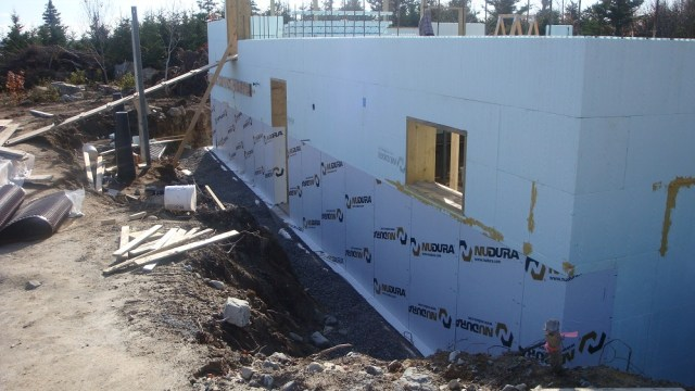 Water Proof Membrane Below Grade
