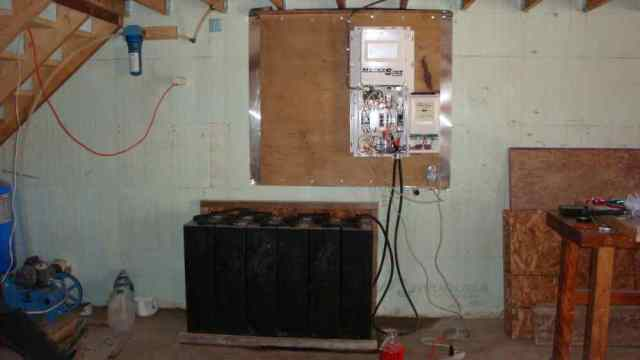 Initial Wiring of New System