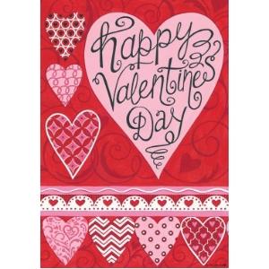Valentines Garden Flags