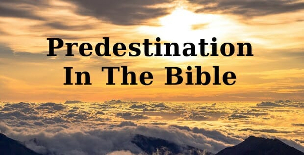 Predestination In The Bible