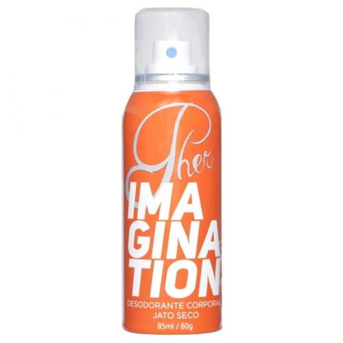 Pher Imagination Desodorante Spray Jato Seco Com Feromônio