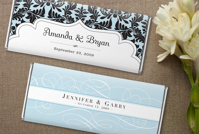 Candy Bar Wrapper Wrappers Wedding Bars