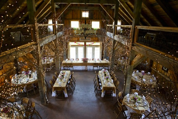 If You Would Prefer To Have Your Ceremony Inside Having The Reception Outside And Barn As A Backdrop Can Be Stunning