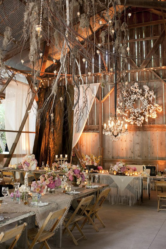 Wedding Decoration Ideas Rustic Country Reception