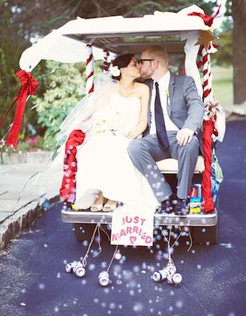 10 Wedding Transportation Ideas