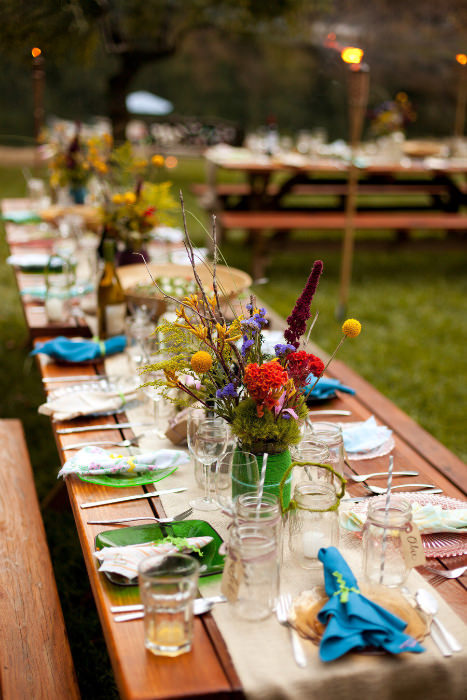 Summer Camp Wedding Inspiration