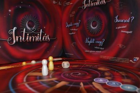 Intimitás - játékdoboztábla