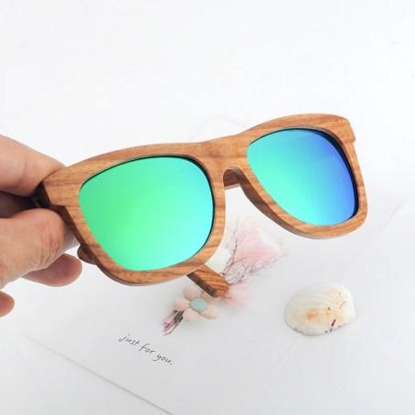 дървени слънчеви очила, природосъобразни са