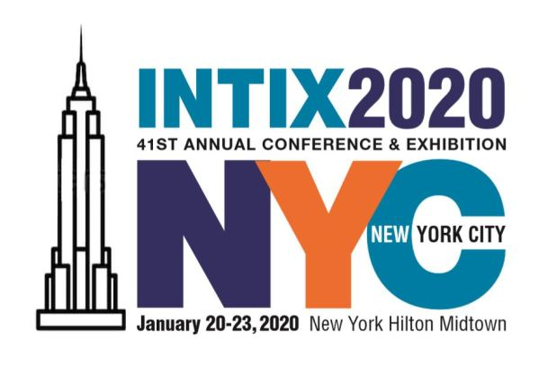 the logo for the 2020 Intix conference
