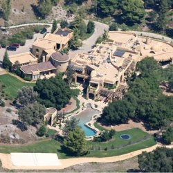 Will and Jada Smith's castle