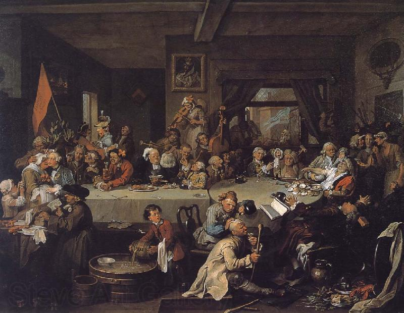 William Hogarth Election Series