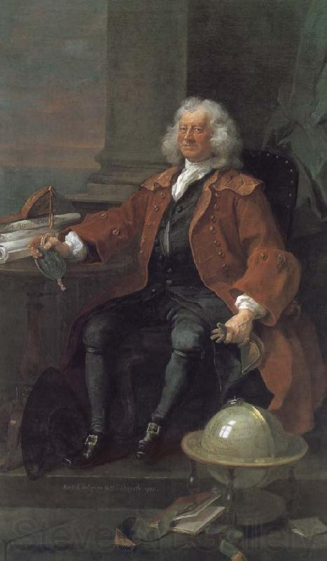 William Hogarth Colum captain