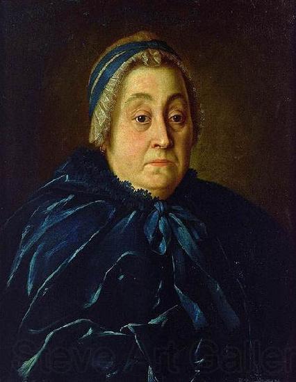 Aleksey Antropov Portrait of Anna Vasiliyevna Buturlina