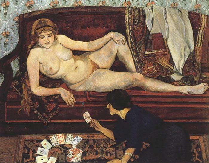 Suzanne Valadon - L'avenir dévoilé - 1912