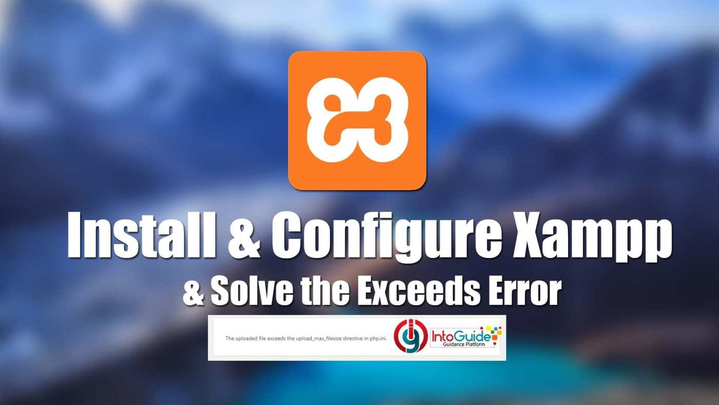 Install and Configure Xampp on Windows 10