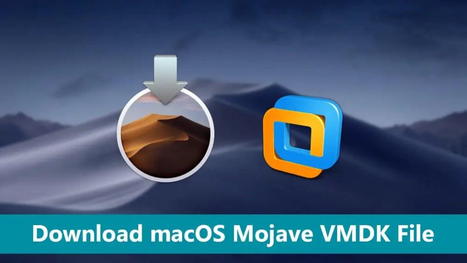 Download macOS Mojave VMDK File