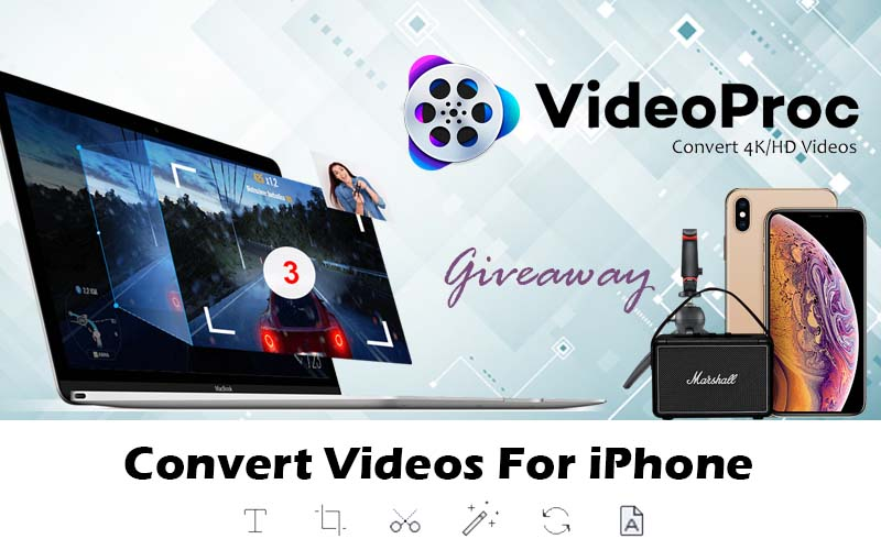 Edit and Convert iPhone 4K Videos with VideoProc