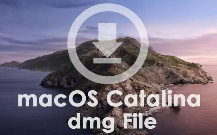Download macOS Catalina dmg File