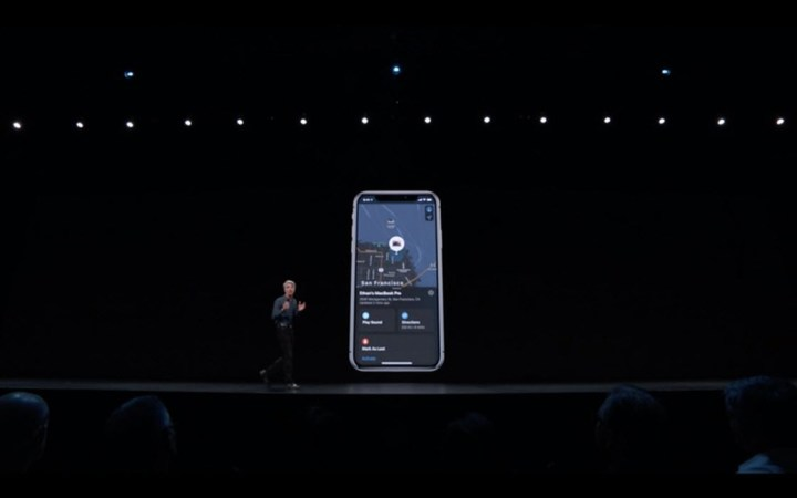 Find My App in iOS 13