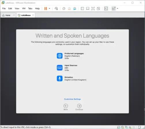 Written and Spoken Language Based on Region