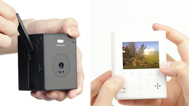 A Solar-Powered Hand-Cranked Digital Camera??
