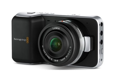Blackmagic Design today announced Blackmagic Pocket Cinema Camera