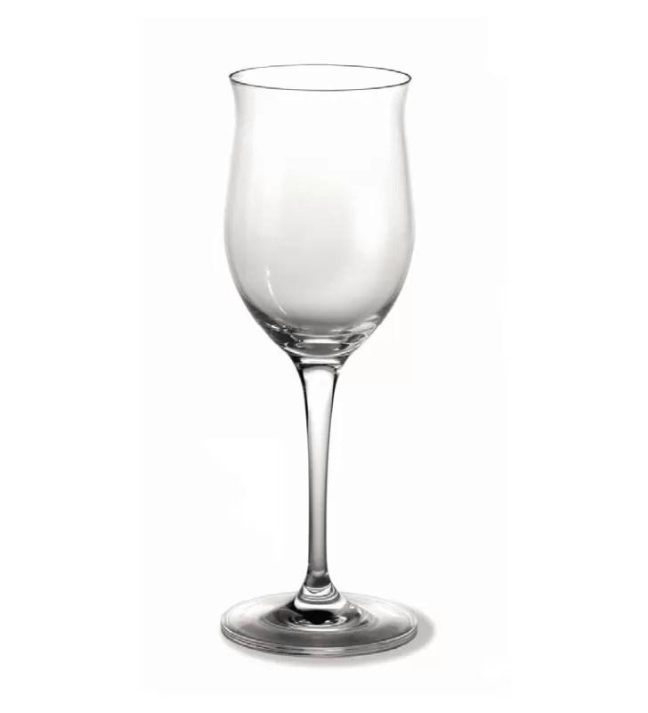 verres a vin blanc 27 cl cristal 6 pieces