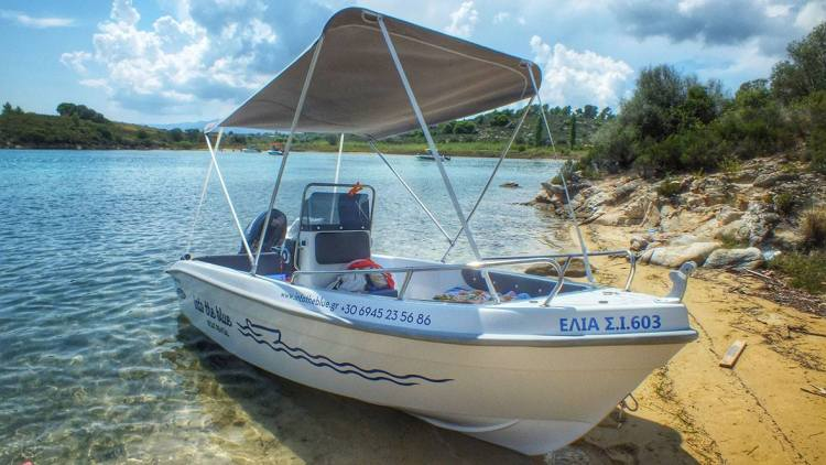 Into the Blue Boat Rental Sun Protection