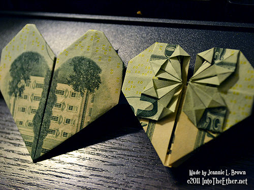 How to fold Money Origami, or Dollar-Bill Origami | 375x500
