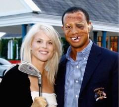 Tiger & Elin + Photoshop = Tasteless