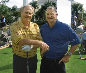 Clay Long and Jack Nicklaus