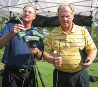Clay Long with Jack Nicklaus