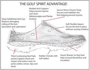 Dawgs Golf Spirit Shoes