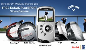 Free Kodak Playsport Video Camera with Purchase of Select Callaway Drivers