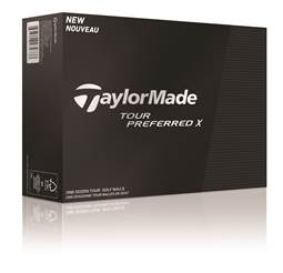 TaylorMade Tour Preferred X Golf Ball