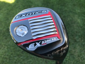 Exotics EX10 Beta Three Wood