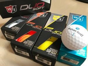 Wilson Duo Soft Golf Balls