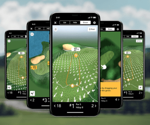 GolfLogix with Putt Breaks