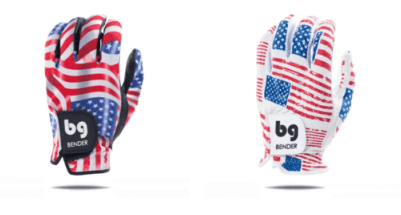 Bender Gloved USA Flag
