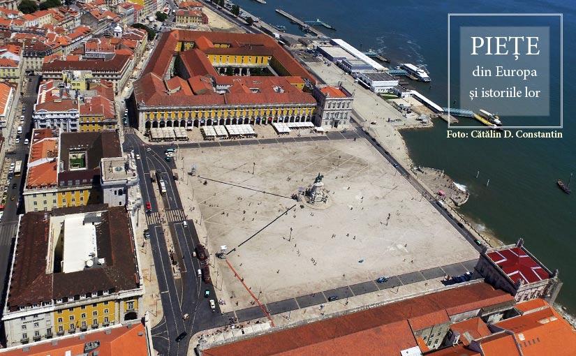 Praça do Comércio from Lisbon (Portugal)