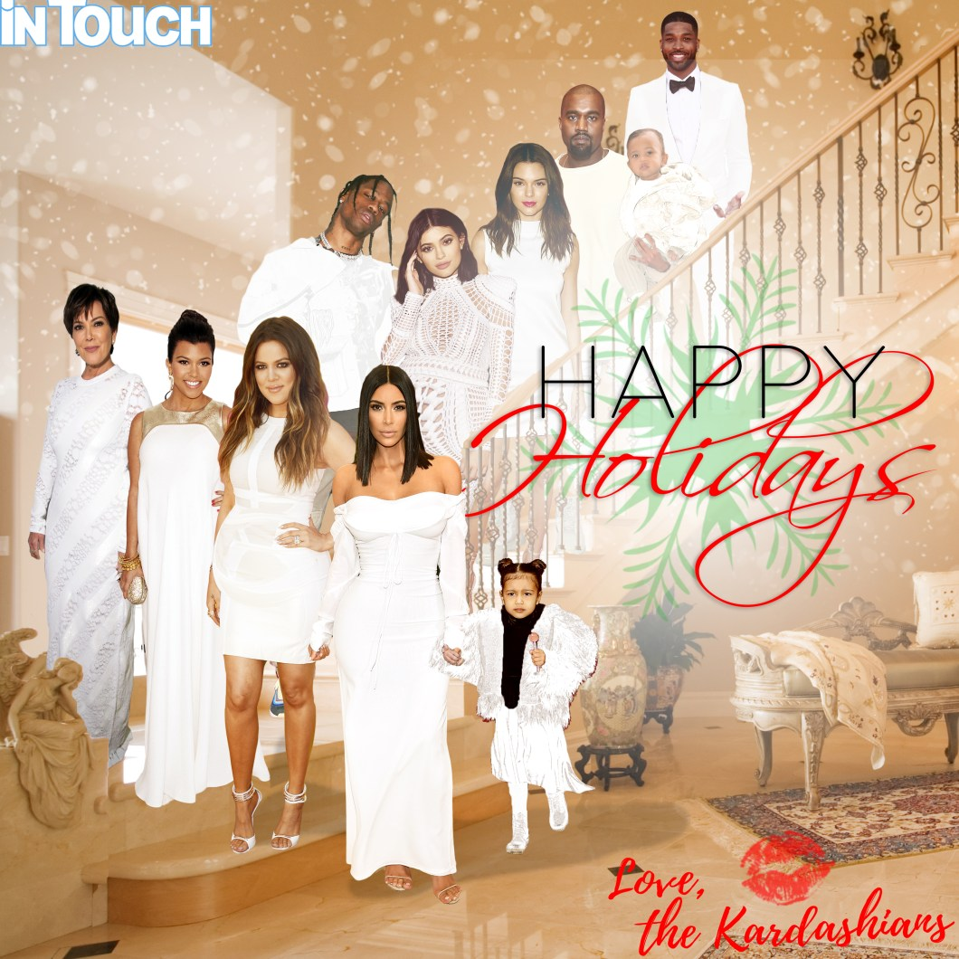 Kardashian Christmas Card 2017 Kylie | Newletterjdi.co