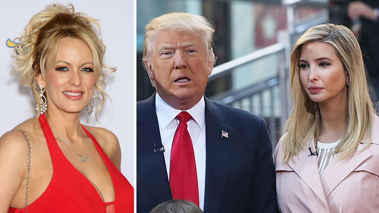 Image result for Donald Compared Stormy Daniels to His Daughter