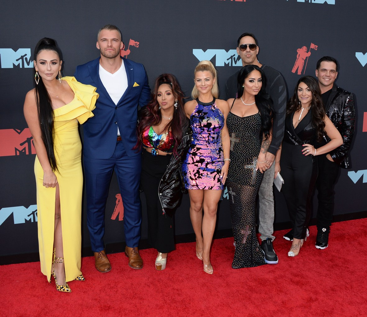 Angelina Pivarnick With 'Jersey Shore' Castmates