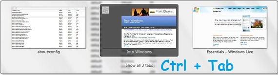 ctrl tab feature in firefox 3.6
